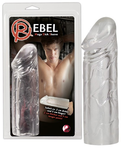 Rebel Mega Dick Sleeve